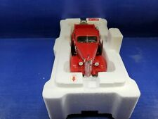DANBURY MINT 1937 STUDEBAKER PICKUP TRUCK, RED, 1:24, EXCELLENT, BOXED