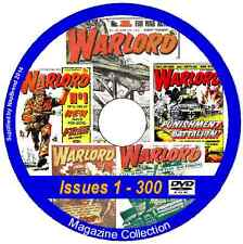 Warlord - Issues 1 - 627 & 12 Specials on 2 DVDs Action Comic Viewing Software