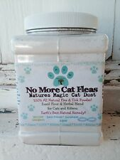 Organic All Natural Flea and Tick Treatment Powder for Cats And Kittens 14 oz