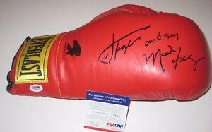 JOE AND MARVIS FRAZIER Signed EVERLAST Boxing Glove w/ PSA COA