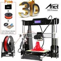 Anet A8 Upgraded High Precision 3D Printer Reprap i3 DIY Kits Auto Self-leveling