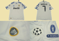 real madrid jersey shirt 2010 2011 home ronaldo champions league cr7