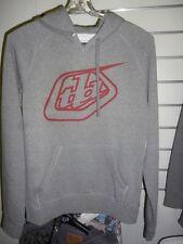 Troy Lee Designs Fleece Womans hood Logo Hoodie Grey - medium