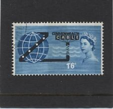 1963 1/6 CABLE (P) SET SUPERB USED. SG 645p