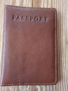Hotter Leather Passport Holder