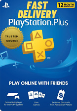 PS Network PlayStation Plus 12 Month Membership PS3 PS4 PS5| 🎮INSTANT DELIVERY⚡