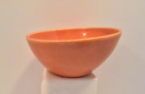 EVA ZEISEL TOWN & COUNTRY RED WING POTTERY COLOR BOWL ORANGE SOUP/DESSER RARE