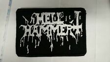 HELLHAMMER Patch iron/sew-on patch USA Seller fast delivery Black Metal Mayhem