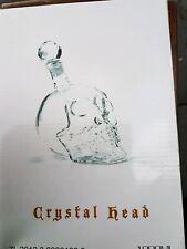 1000ml Crystal Skull Head Vodka Shot Whiskey Wine Divider Glass Bottle