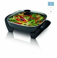 NEW Black Indoor Grill Electric Griddle Skillet Pan Nonstick Non Stick