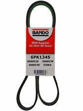 Serpentine Belt-Rib Ace Precision Engineered V-Ribbed Belt BANDO 6PK1345