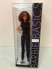Barbie Basics Model 02 Collection 002 Denim Excellent box NRFB New brunette