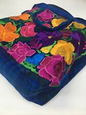 Guatemala Handmade Multicolor Floral Boho Hippie Shoulder Bag Crossbody F039