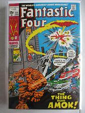 Fantastic Four Vol. 1 (1961-2012) #111 VG/FN