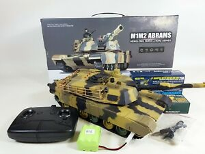 Heng Long Radio Control RC Military Army Airsoft BB m1m2 Abrams US Tank 3816 2.4