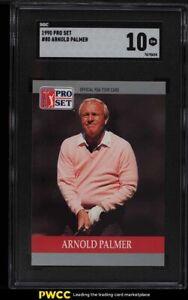 1990 Pro Set Golf Arnold Palmer #80 SGC 10 GEM MINT