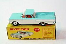 Dinky 449 Chevrolet El Camino, Good Condition in Original Box