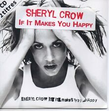 ★☆★ CD Single Sheryl CROW If it makes you happy 2-Track CARDSL NEW SEALED  ★☆★