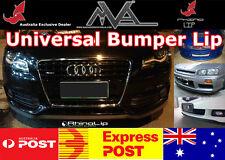 Universal Front Bumper Spoiler for VW GOLF GTI R R32 PASSAT R36 POLO Scirocco