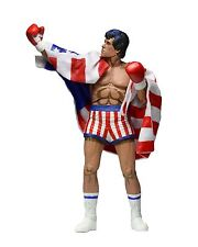 "NECA ROCKY 1987 8-BIT NES Male PVC  Model 7"" Figure Statue Collection Gift Toys"