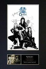 Queen - Signed By All 4 Band Members *RARE* Autographed Photograph- Museum Grade