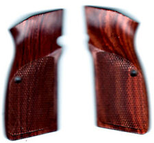 FN Browning Hi-Power Solid Rosewood Grips checkered