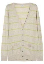 L Regular Size Striped Cardigans for Women