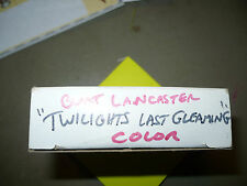 TWILIGHT'S LAST GLEAMING, 16mm tv spot [Flat / 0:60] - Burt Lancaster