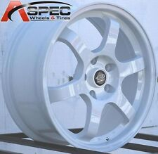 17X7.5 ROTA GRID WHEELS 5X114.3 RIMS ET45MM FITS 5 LUG ACURA RSX 2002-2006