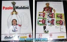 **VISIT MY EBAY STORE-Album with 24 stickers Panini Football PAOLO MALDINI MILAN