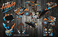 KTM 65 GRAPHICS KIT 2009-2015  DECAL KIT STICKERS GRAPHIC KIT KTM65 2009 DECALS