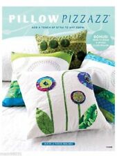 Sewing / Quilting Pattern Book PILLOW PIZZAZZ ~ 13+ Creative / Modern Designs