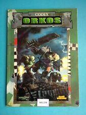 Warhammer 40K - Codex Orkos - WK239