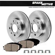 TA138941 Max Brakes Front Premium Brake Kit Fits: 2011 11 2012 12 2013 13 Ford Fiesta OE Series Rotors + Metallic Pads