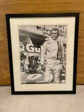 Steve McQueen Le Mans Framed Art Print