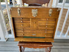 VINTAGE GERSTNER MACHINIST CHEST 11 Drawer Use Also For Jewelry NO RESERVE!