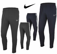Nike Boys Tracksuit Bottoms Skinny Fit Academy Kids Football Training Pants