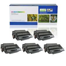 5PACK Q6511A Toner Cartridge for HP 11A LaserJet 2420n 2430 2430dtn 2430n 2430tn