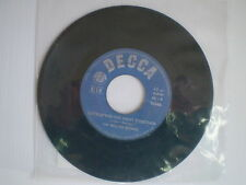 """ROLLING STONE """"LET'S SPEND THE NIGHT TOGETHER/RUBY TUESDAY"""" DISCO VINILE 45 GIRI"""