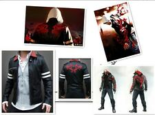 Prototype Alex Mercer Jacket Embroidered PU Leather Cosplay Costume