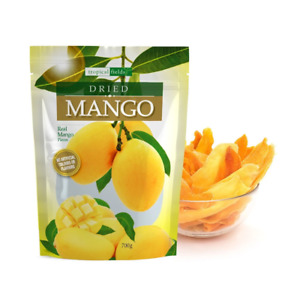 Tropical Field Dried Mango Real Mango Pieces No Artificial Colours Or Flavours 7