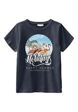 NAME IT kurzarm T-shirt NKMVictor dunkelblau Holidays Größe 116 bis 146/152