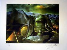SALVADOR DALI - Lithographie. Signiert handgefertigte und nummerierte