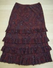 Marks and Spencer Silk Tiered Skirts for Women