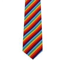NEW Rainbow LGBT Gay and Lesbian Pride Tie Wide Necktie