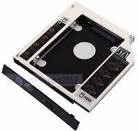 2nd SATA Hard Drive HDD Caddy Adapter Bay for Lenovo IdeaPad G400 G405 G500 G505