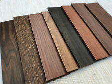 Straight Razor Material for Scales Exotic woods Ebony, Rosewood DIY project