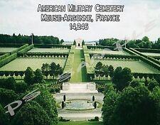 France - Meuse-Argonne American Cemetery - Flexible Fridge Magnet