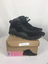 "2012 Air Jordan Retro X(10) ""Stealth"" Size 10 W/Rep Box 310805-003"