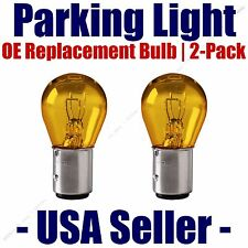 Parking Light Bulb 2-pack OE Replacement Fits Listed Chevrolet Vehicles - 2057A